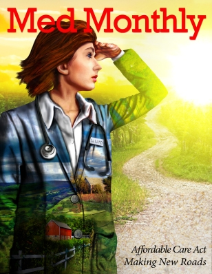 Can the AHA Draw Doctors the the Countryside? Illustrated by Laura Maaske; © 2013 Laura Maaske - Medimagery LLC